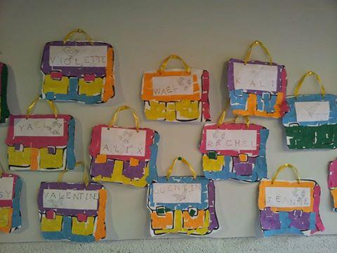 Petit po me de rentr e invent par les 3 mes maternelles - Decoration des classes pour la rentree scolaire ...